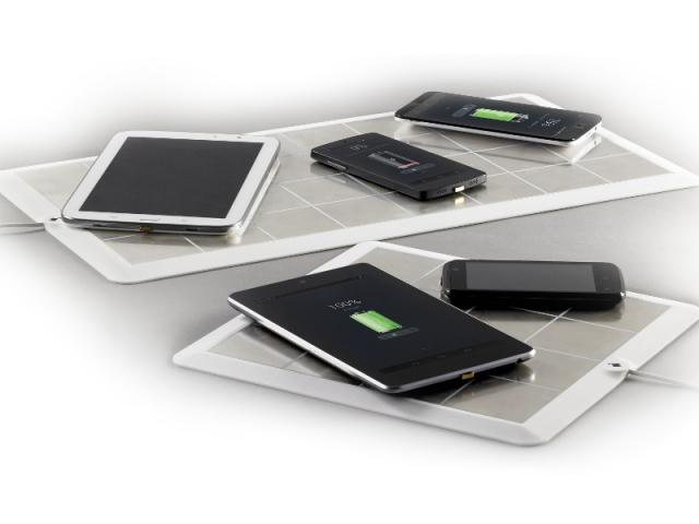 EnergySquare, surface de chargement sans fil pour mobiles