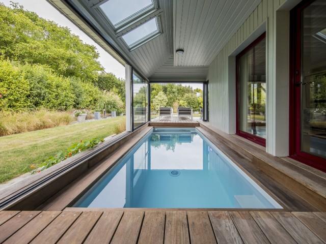 Catégorie piscine intérieure - Trophée d'argent - Trophées de la piscine et du spa 2016