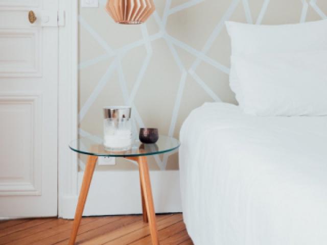 Style scandinave dans la chambre