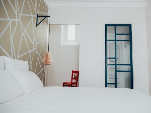 Une chambre comme une suite d'hôtel