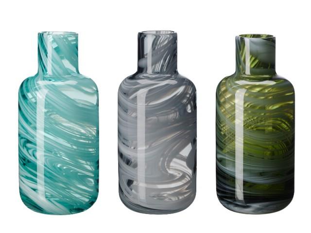 Un vase en verre recyclé : 9,99 €