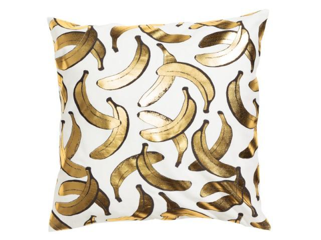 Un coussin motif bananes : 9,90 €