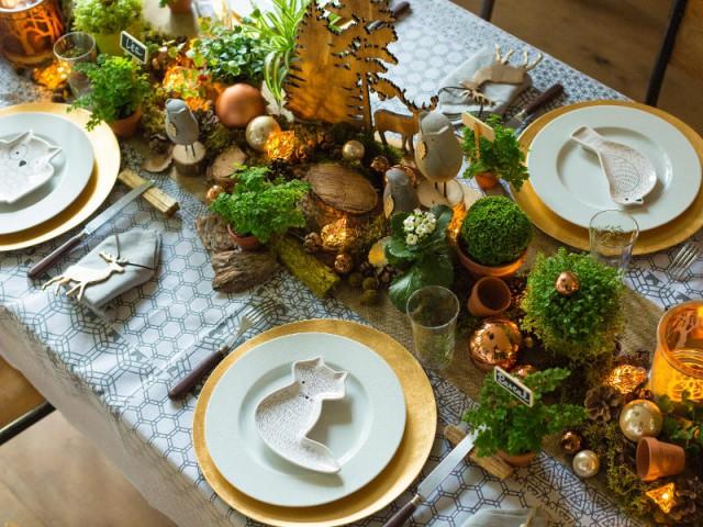 10 Tables De Fetes Sublimees Par Des Assiettes Originales
