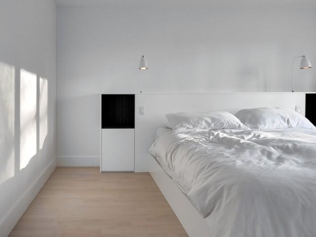 Une chambre parfaitement harmonisée - A Montréal, une maison se réinvente...