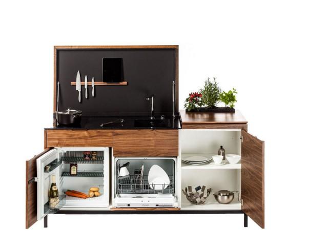 Une cuisine compacte et très fonctionnelle