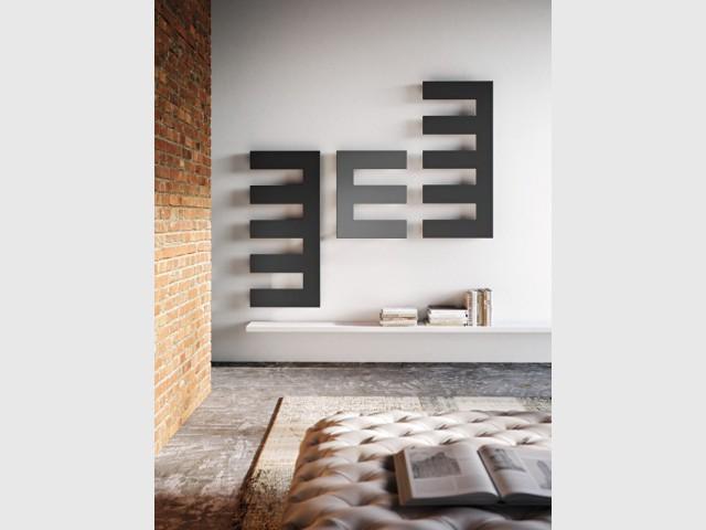 Des radiateurs comme des oeuvres d'art