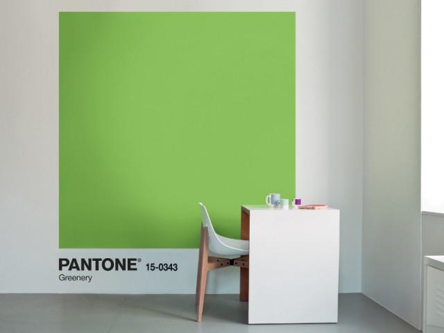 Greenery, couleur de l'année 2017 pour Pantone