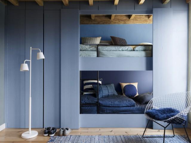 Bleu gris, couleur de l'année 2017 pour Dulux Valentine