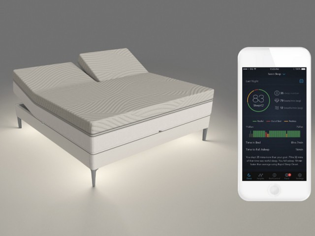Sleep Number 360 smart bed, la literie intelligente, récompensée au CES 2017
