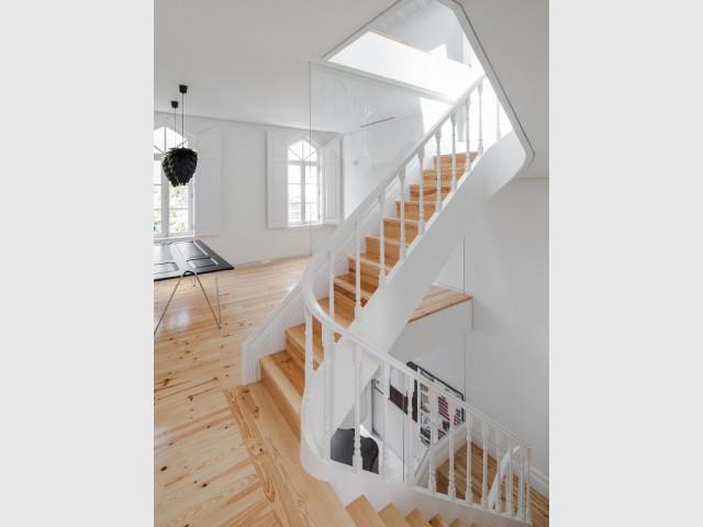Un espace à vivre ouvert comme un loft
