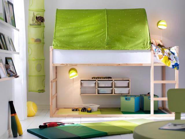 Tendance Greenery : du vert dans la chambre des enfants