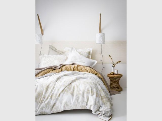 Douceur et poésie pour mon linge de lit