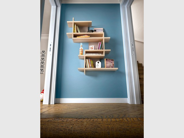 Rangement 10 tag res design et originales for Etagere pour couloir