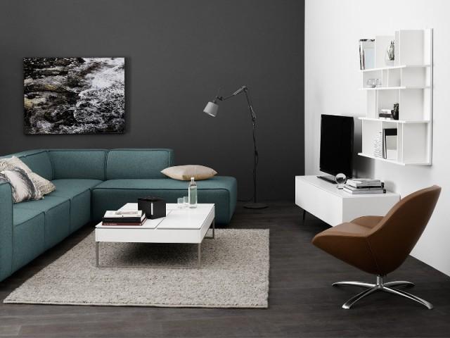 Un meuble télé blanc design pour mon salon
