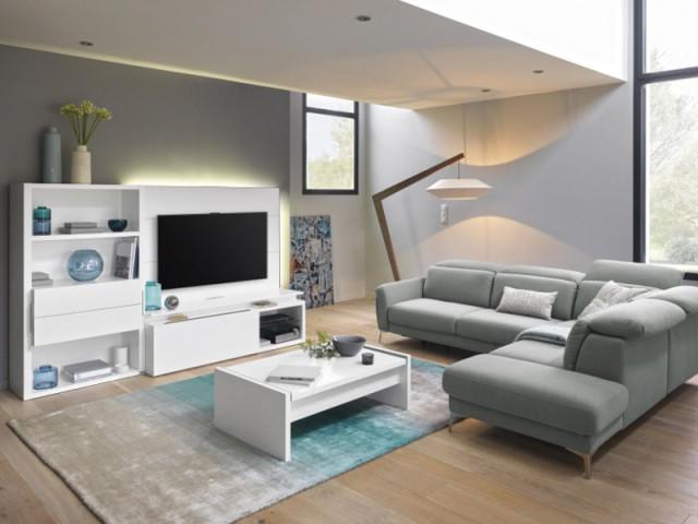 Une télé qui se love dans une meuble design