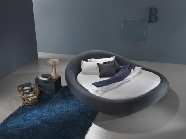 Un lit rond, véritable cocon envelopant - Et si vous optiez pour un lit pas comme les autres