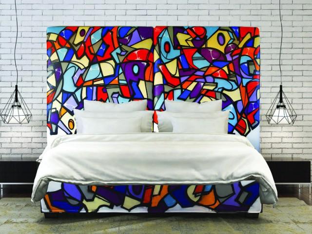 Un lit Street Art haut en couleur - Et si vous optiez pour un lit pas comme les autres