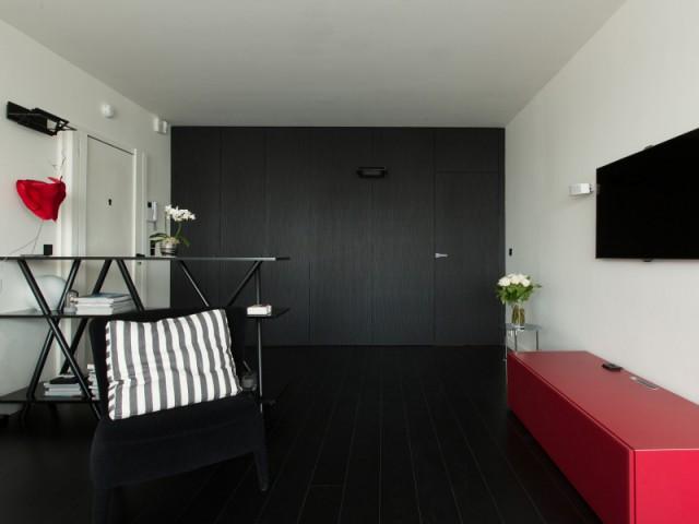 Un appartement chic et graphique