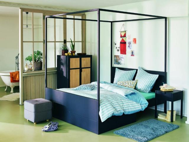 Un lit à baldaquin version moderne - Et si vous optiez pour un lit pas comme les autres