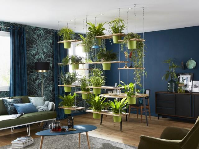 Un mur végétal dans mon salon