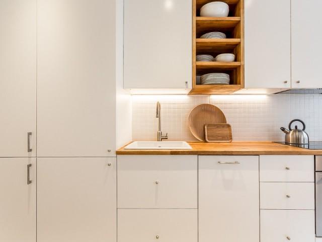 Une cuisine fonctionnelle et esthétique
