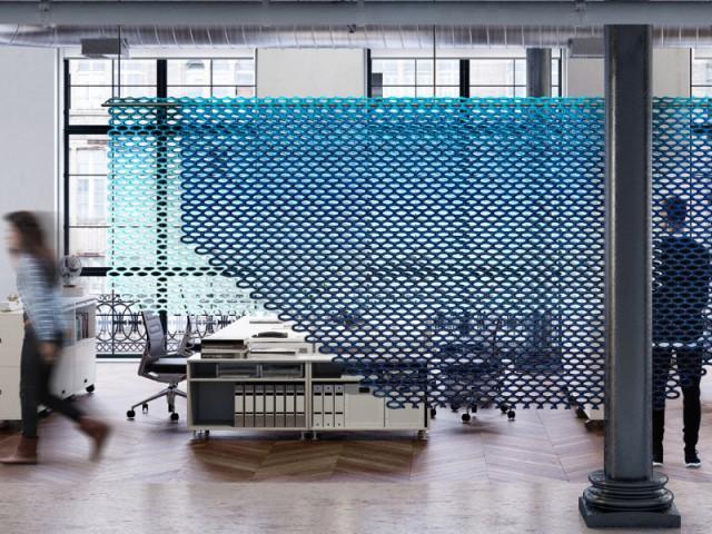 """Un radiateur """"Tissé"""" pour structurer l'espace - Le radiateur du futur"""