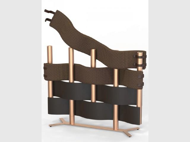 """Un radiateur """"Natte"""", reconfigurable en fonction des besoins - Le radiateur du futur"""