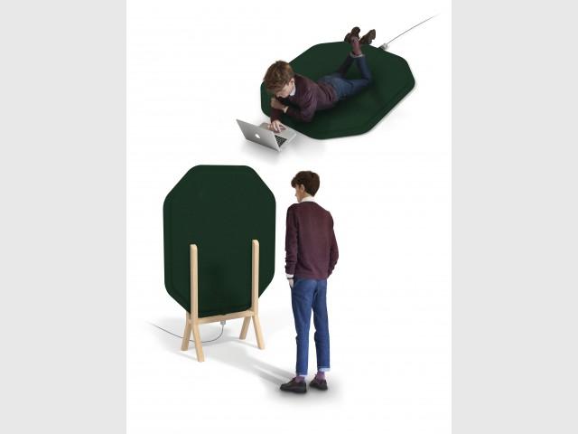 """Le radiateur """"Minima"""" qui s'utilise aussi en paravent et en tapis - Le radiateur du futur"""