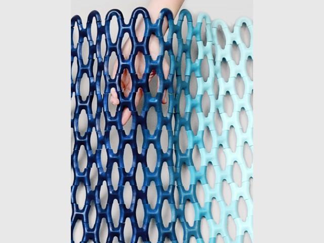 """Le radiateur """"Tissé"""", un maillage aérien en céramique - Le radiateur du futur"""