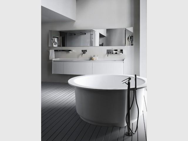 Du blanc dans la salle de bains pour une sensation de pureté - Total look blanc dans nos intérieurs