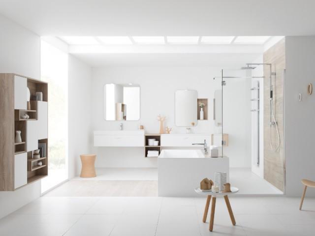 Du blanc dans la salle de douche pour une absolue sérénité - Total look blanc dans nos intérieurs