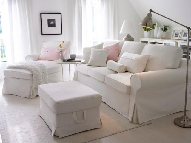 Du blanc dans un salon familial pour un intérieur chaleureux - Total look blanc dans nos intérieurs