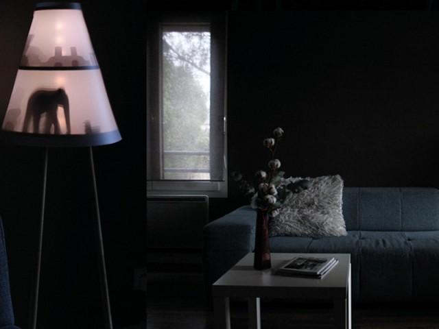Le lampadaire Céno par Elisa Piras