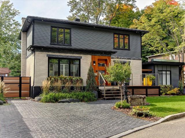 Une maison minérale multifacette