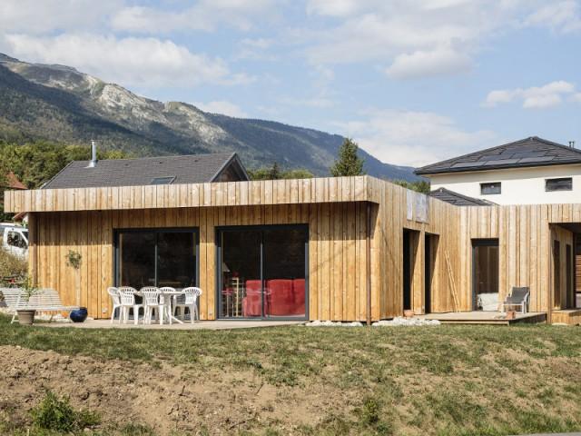 Une maison qui s'intègre à son environnement