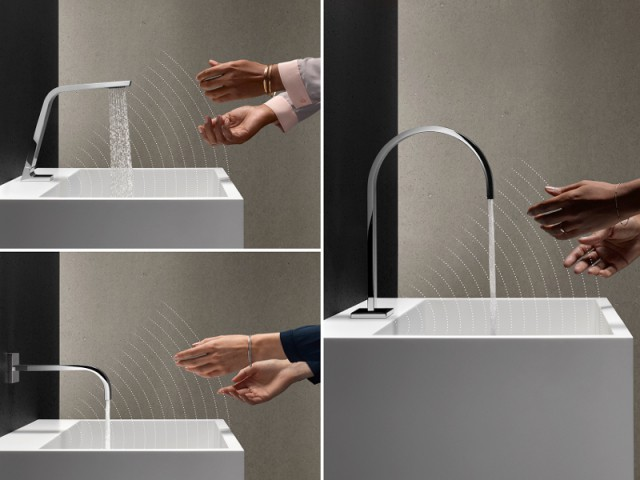 Un robinet qui se déclenche tout seul à distance