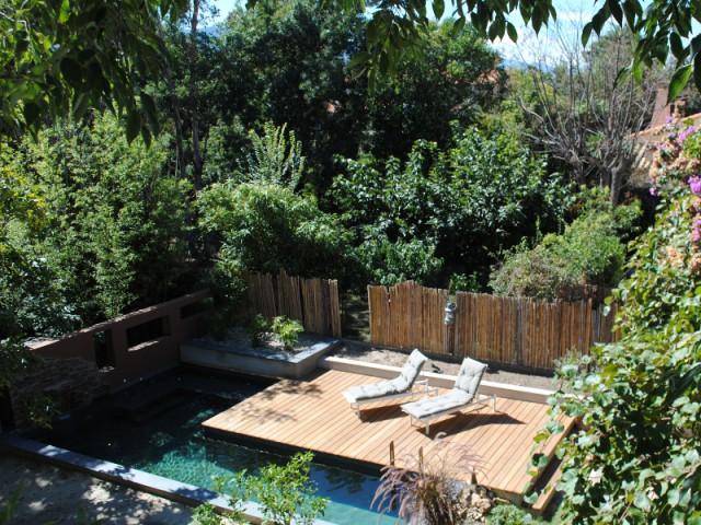 Installation d'une piscine biologique