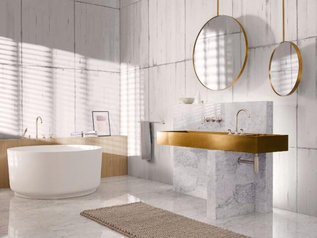 Miroir rond 10 mod les pour ma salle de bains for Accessoire salle de bain dore