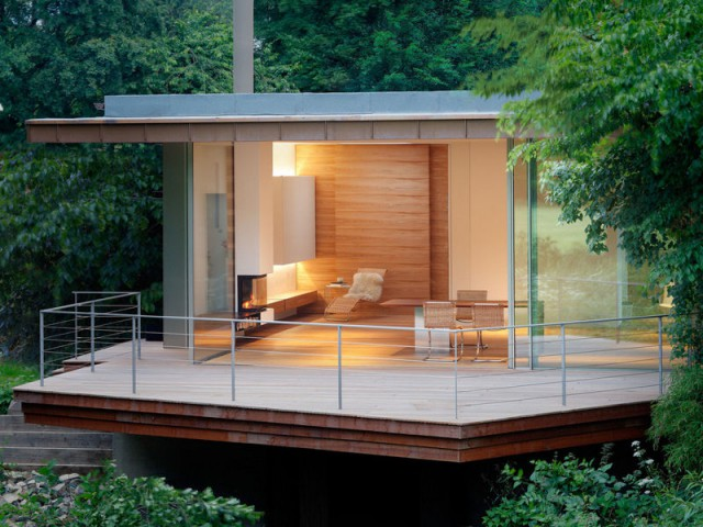 Une terrasse panoramique pour apprécier la nature