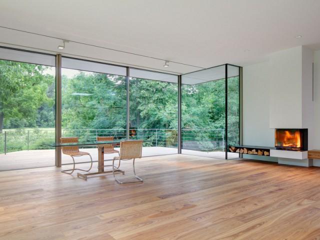 Une maison sans meuble pour un espace épuré