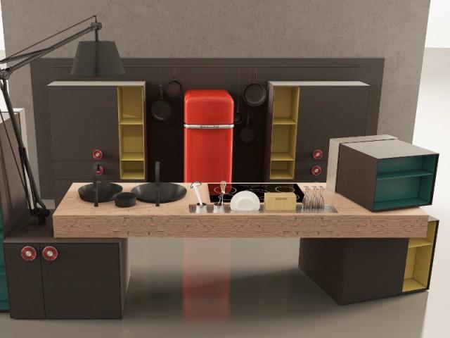 Une cuisine entre art et design