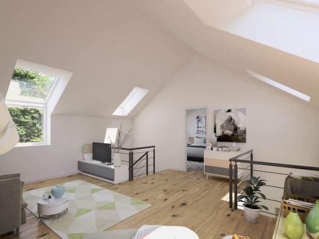 Une maison à espaces inversés