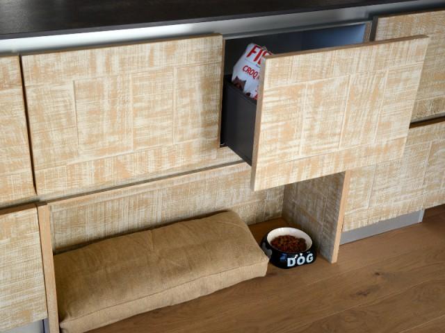 kitc'n dog, espace pour animaux dans la cuisine