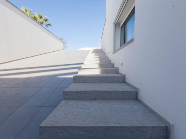 Des extérieurs façonnés grâce au marbre
