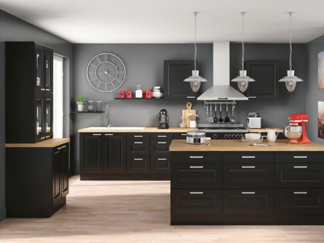 Le noir pour une cuisine plus design