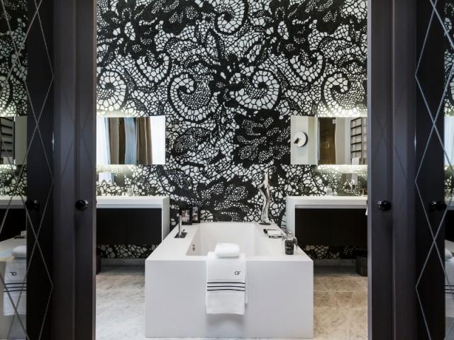 Une salle de bain comme une robe de soirée