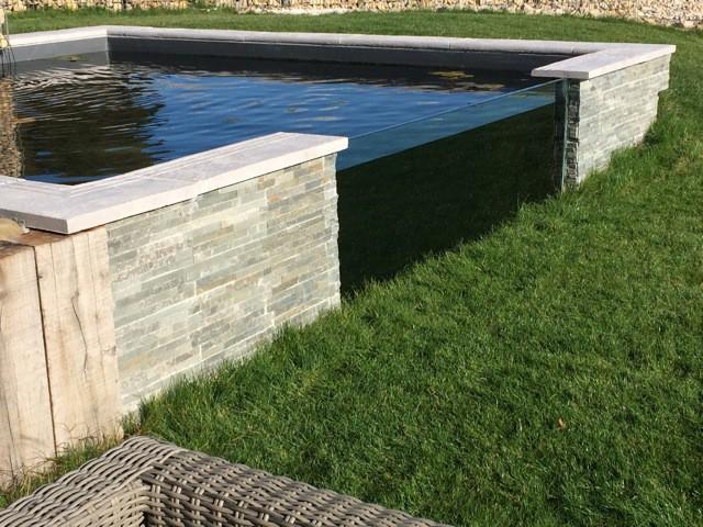 Un bassin à carpes