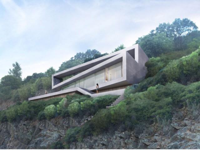 Une villa d'architecte perchée sur la colline d'Hyères : Fiche technique - Une villa d'architecte perchée sur la colline d'Hyères