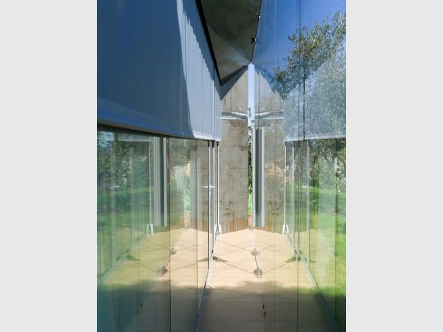 Maison SPE : une paroi vitrée double - Maison SPE