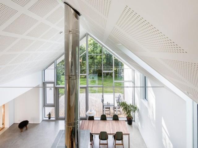 Alliance du style scandinave traditionnel et d'éléments d'architecture moderne - Ferme en Norvège
